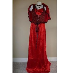 Womens Little RED RIDING HOOD costume Size 8/10